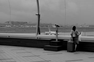 Departures, Haneda Airport