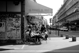 Cafe society, Les Halles