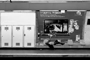 Imaginez. Réalisez. Paris Metro station