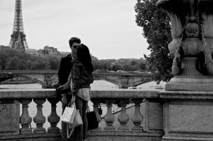 Love on the Pont Alexandre III