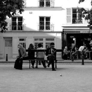 Isle de la Cité, Place Dauphine