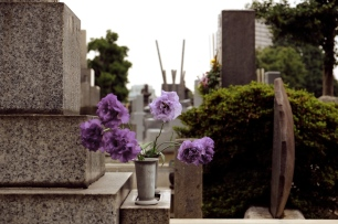 """You might have seen on the news…a certain someone was laid to rest yesterday in Yanaka Cemetery."""