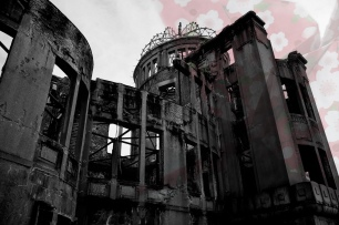 Hiroshima Peace memorial Park   A-Bomb Dome